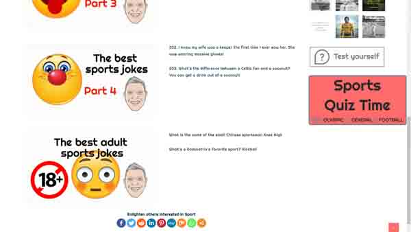 the best sports Jokes