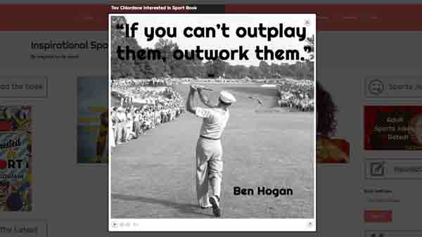 The most inspirational sports quotes